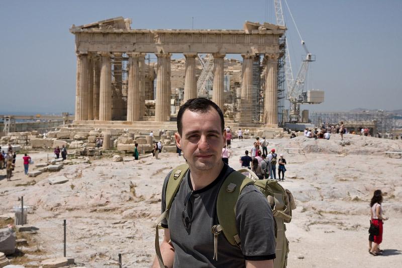 Eu e o Parthenon (foto obrigatória)